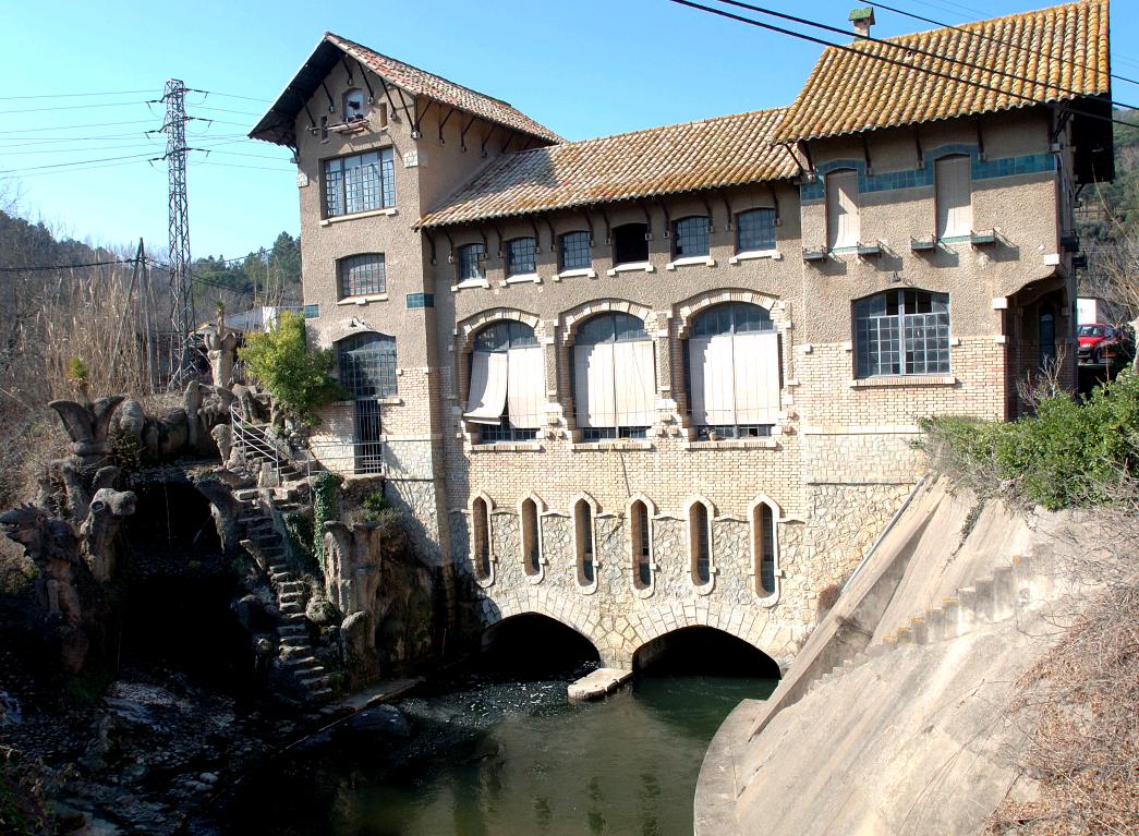 Central Hidroelèctrica de Bescanó
