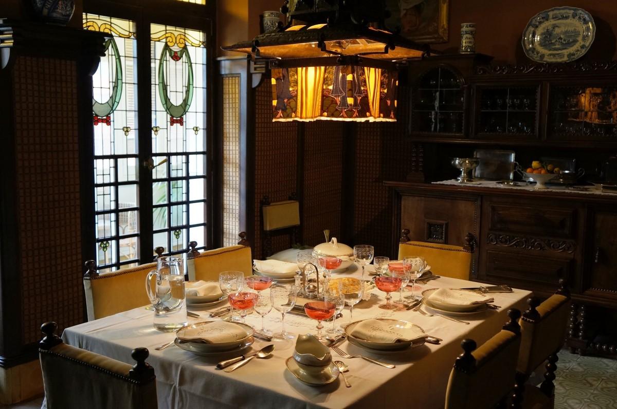 Interior de la Casa Masó