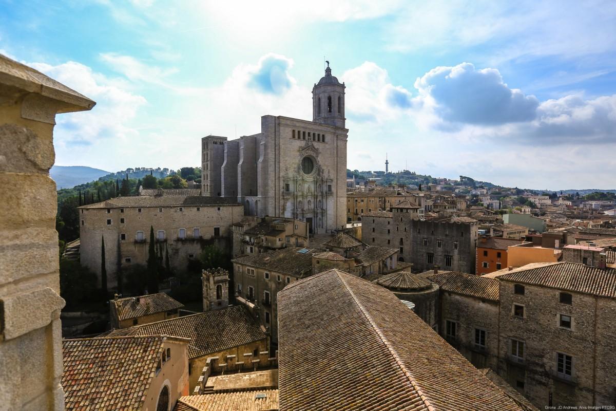 Fotografia aèria de Girona