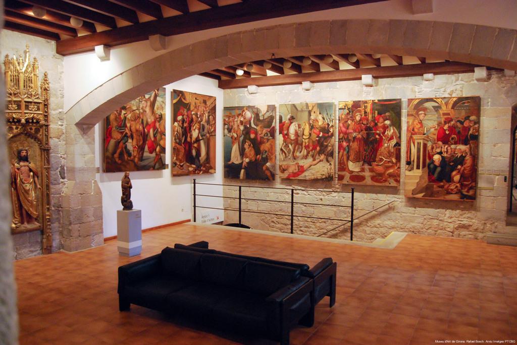 Sala del Museu d'Art de Girona