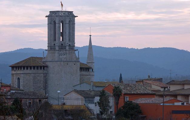 Campanar de l'església de Sant Esteve de Bordils