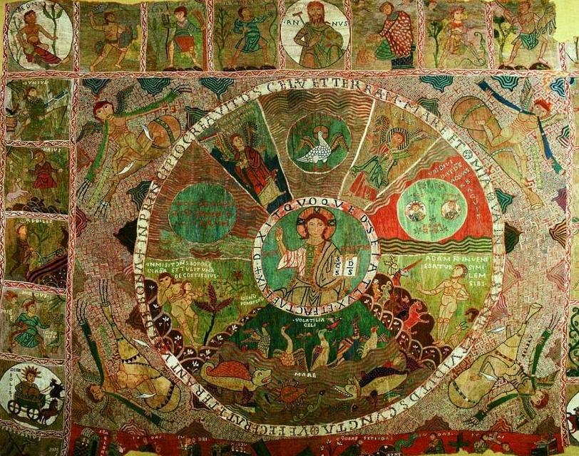 Tapís de la Creació de la Catedral de Girona