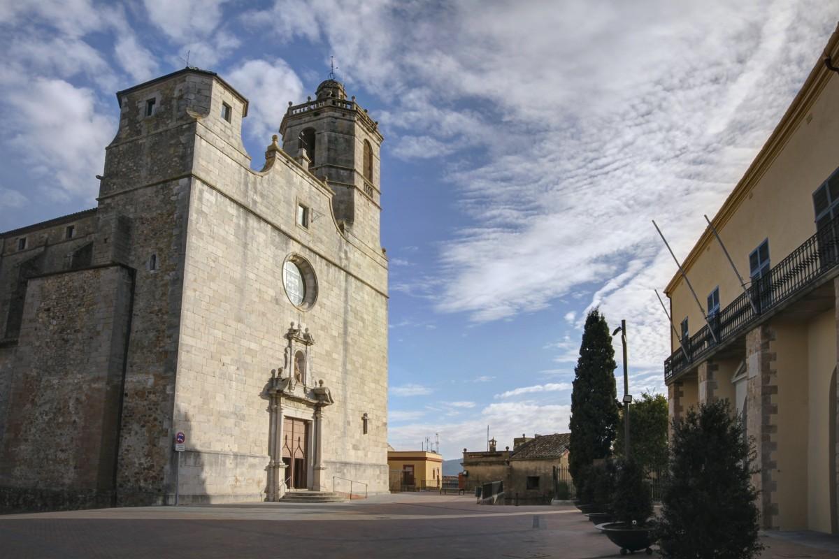 Església parroquial de Llagostera