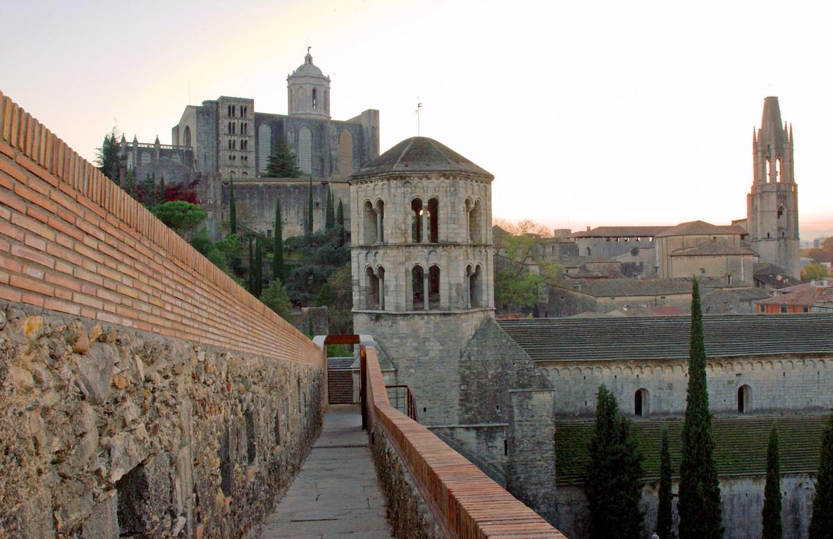 Muralla del barri vell de Girona