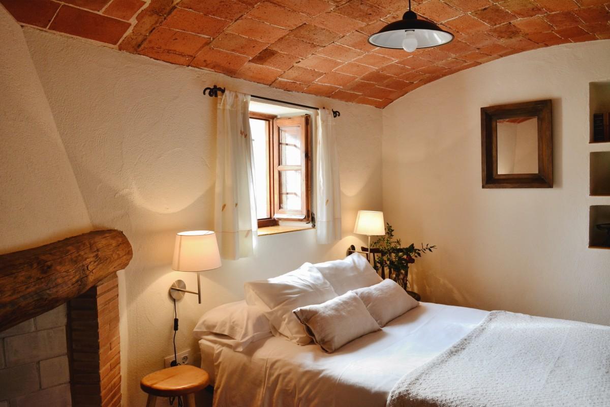 Habitació de Can Bonet a Sant Marti Vell