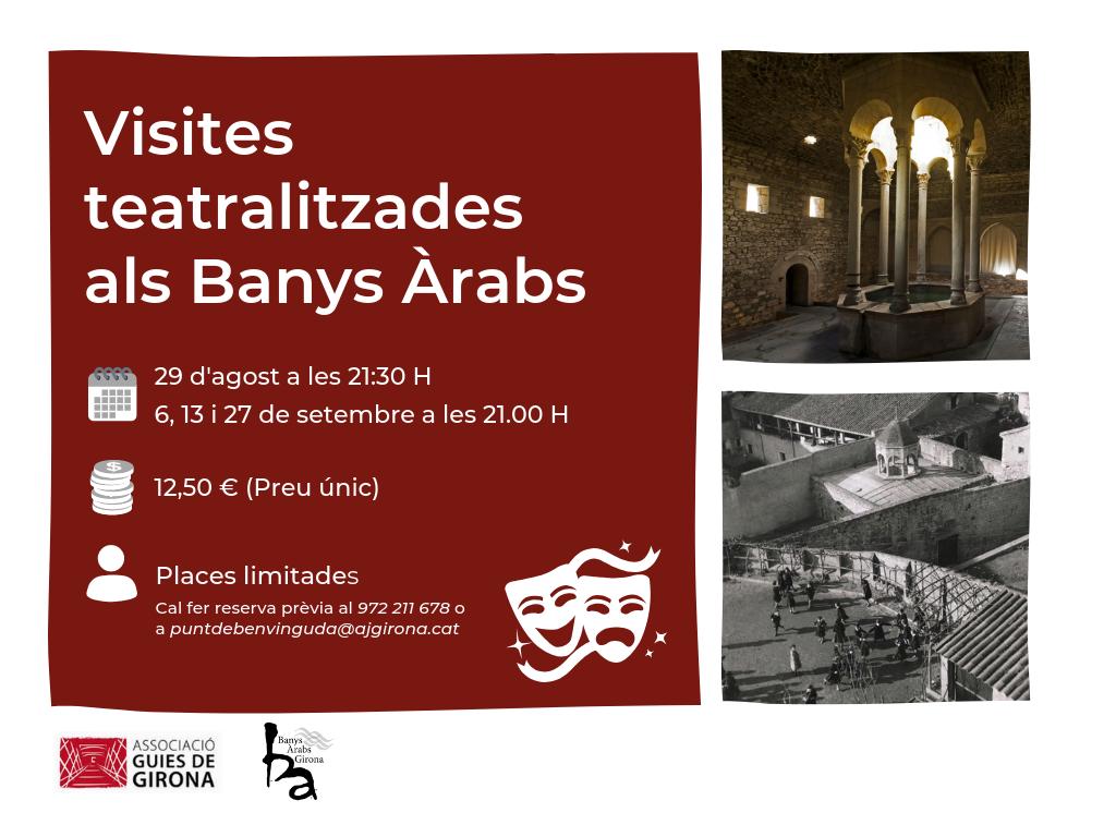 Visites teatrelitzades banys àrabs girona gironès