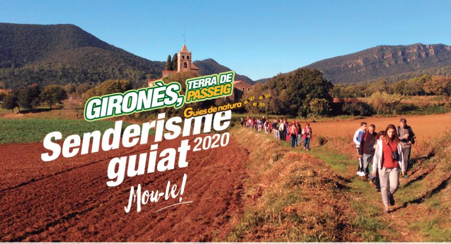 Senderisme Guiat al Gironès 2020 (portada)