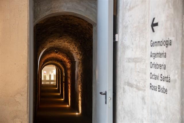 Passadís de la fortalesa de Girona d'OR Museum
