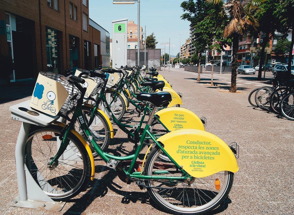 Girocletes, les bicicletes de Girona