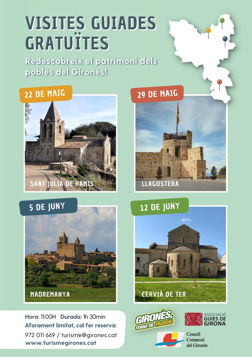 visites guiades gironès patrimoni