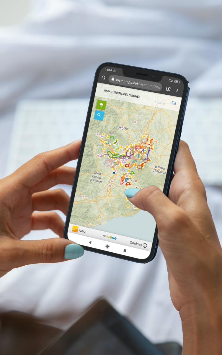 mapa gironès mòbil