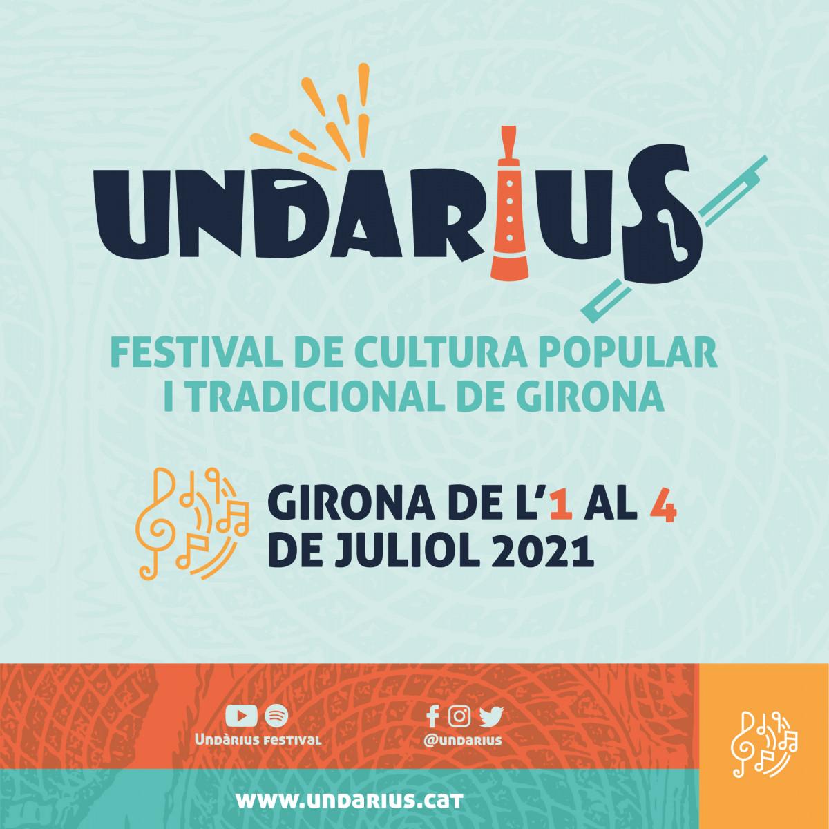 Cartell Festival Cultura Popular i Tradicional Girona