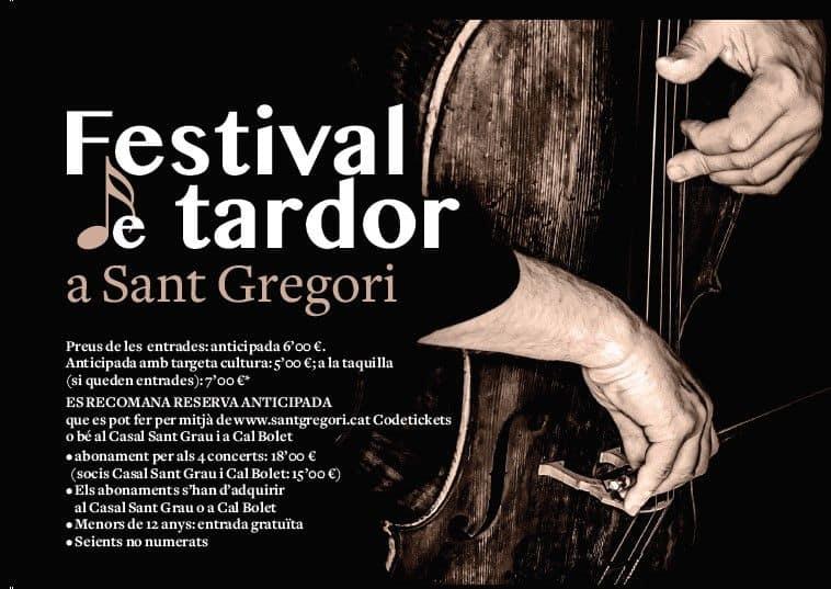 festival de tardor sant gregori 2021